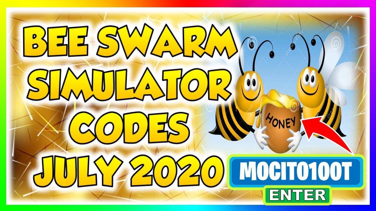 Updated Bee Swarm Simulator Op Codes July 2020 In 2020 Bee Swarm Coding Bee