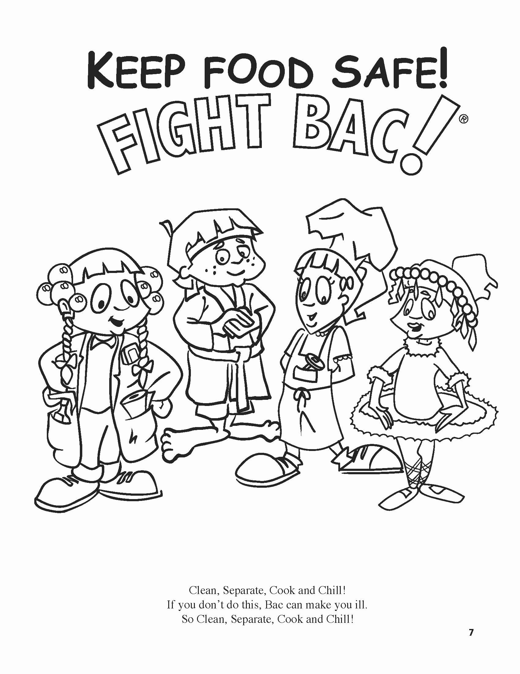 Summer Safety Coloring Pages Unique Kitchen Safety For