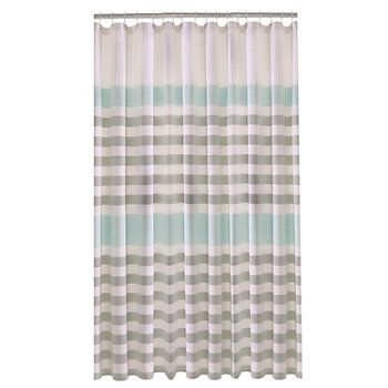 Sonoma Goods For Life Torrance Medallion Fabric Shower Curtain