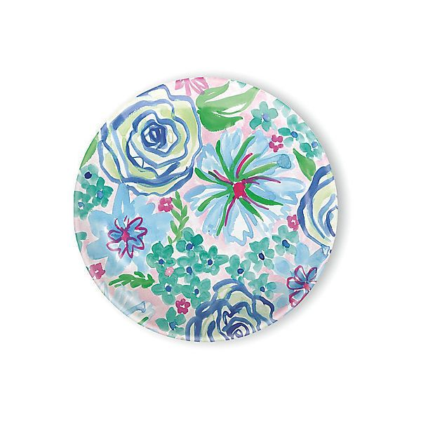 Spring Garden Melamine Salad Plates Set of 4 Salad Plates (62 CAD) ? liked on Polyvore featuring home kitchen u0026 dining dinnerware melamine dinnerware ...  sc 1 st  Pinterest & Spring Garden Melamine Salad Plates Set of 4 Salad Plates (62 CAD ...