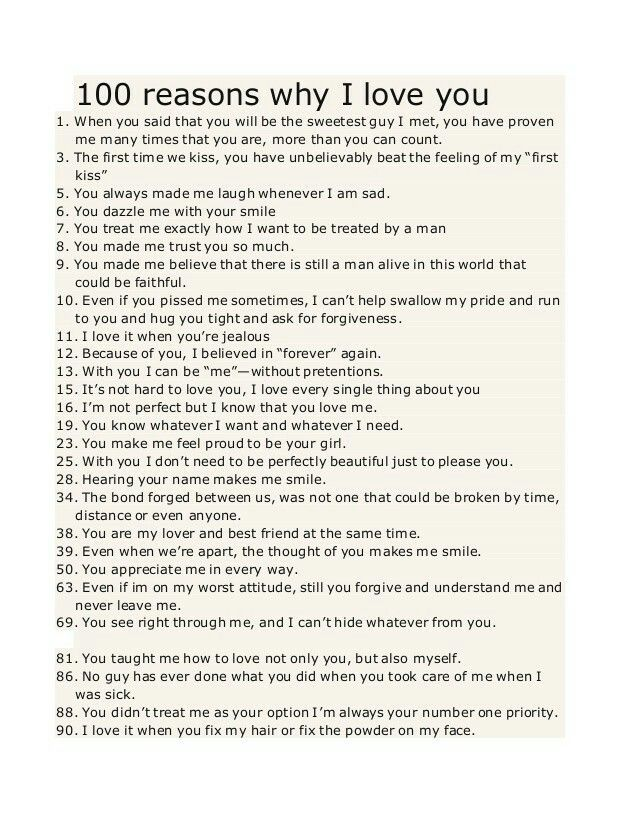 Pin By Dulce Z On I Love You Reasons I Love You 100 Reasons Why I Love You Love You Boyfriend