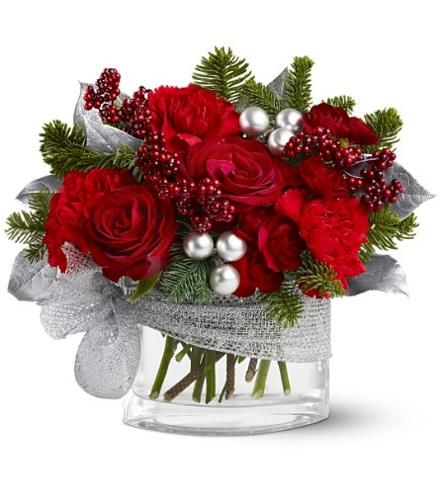 floral arrangements for christmas | Keeping your Christmas Flowers ...