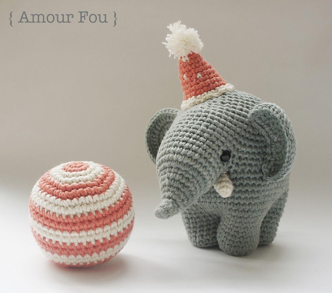 Amigurumi Circus Elephant - FREE Crochet Pattern ...