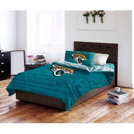efb1a954 NFL Jacksonville Jaguars Bed in a Bag Complete Bedding Set ...