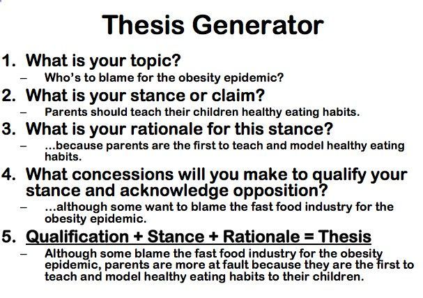 Buy thesis statement