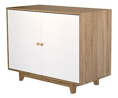 Mobili Rovere ~ Mobile a 2 ante in legno bianco rovere 110x55x85 cm i want buy