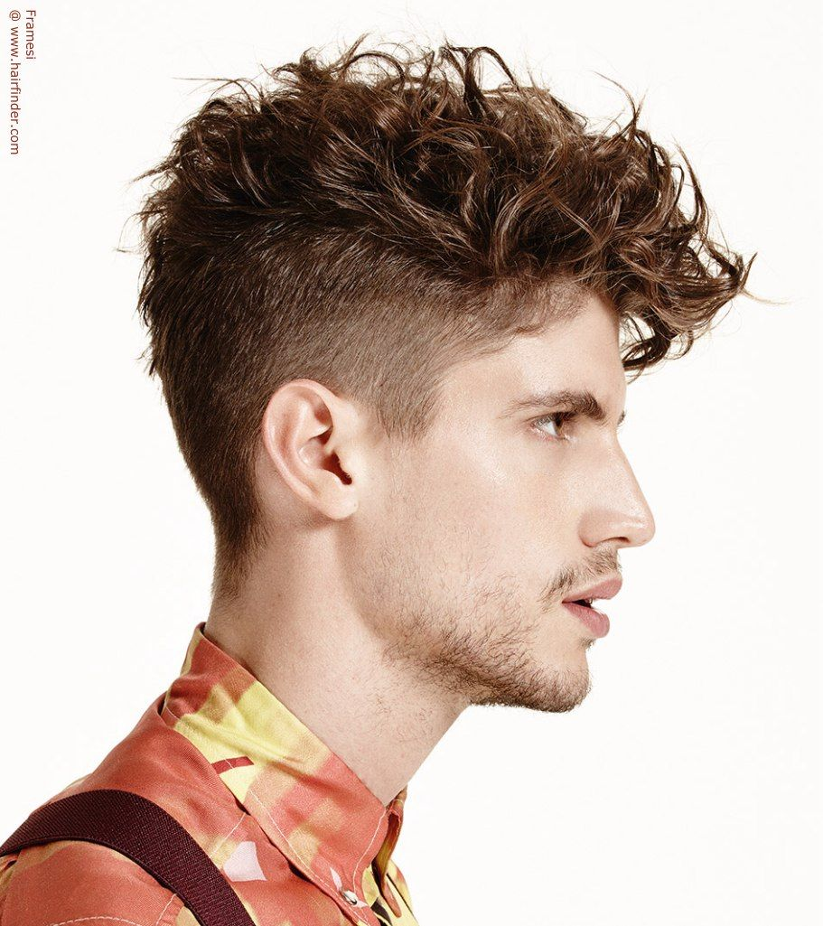 Straight hair perm guys - Curly And Wavy Hairstyles For Men Undercut Hairstyle For Wavy Hair