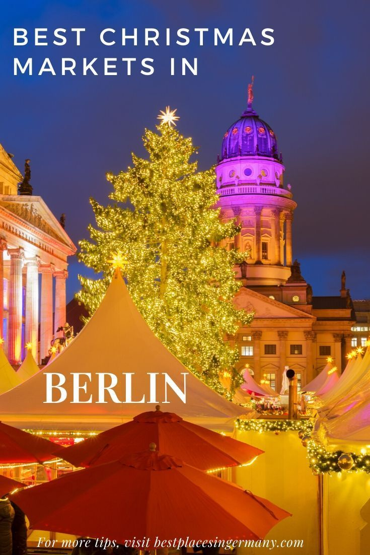 With around 80 Christmas Markets in Berlin, there's a lot to choose from. So I made a list of the best Christmas markets in Berlin for you to visit. #christmasmarkets #germanchristmasmarkets #germanychristmas #germanytravel