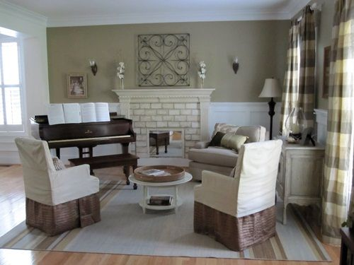 Feature Friday Two Story Cottage Piano Living Rooms Grand Piano Living Room Eclectic Living Room