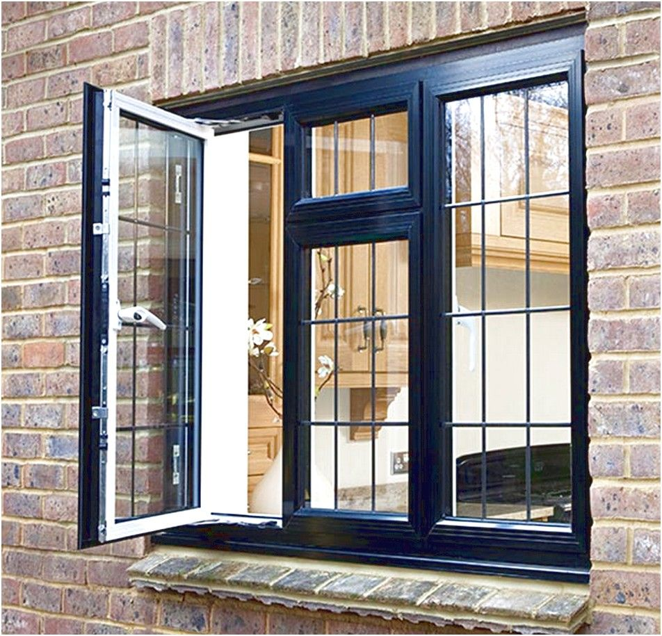 Design Ideas Black Casement Window Aluminium Steps For