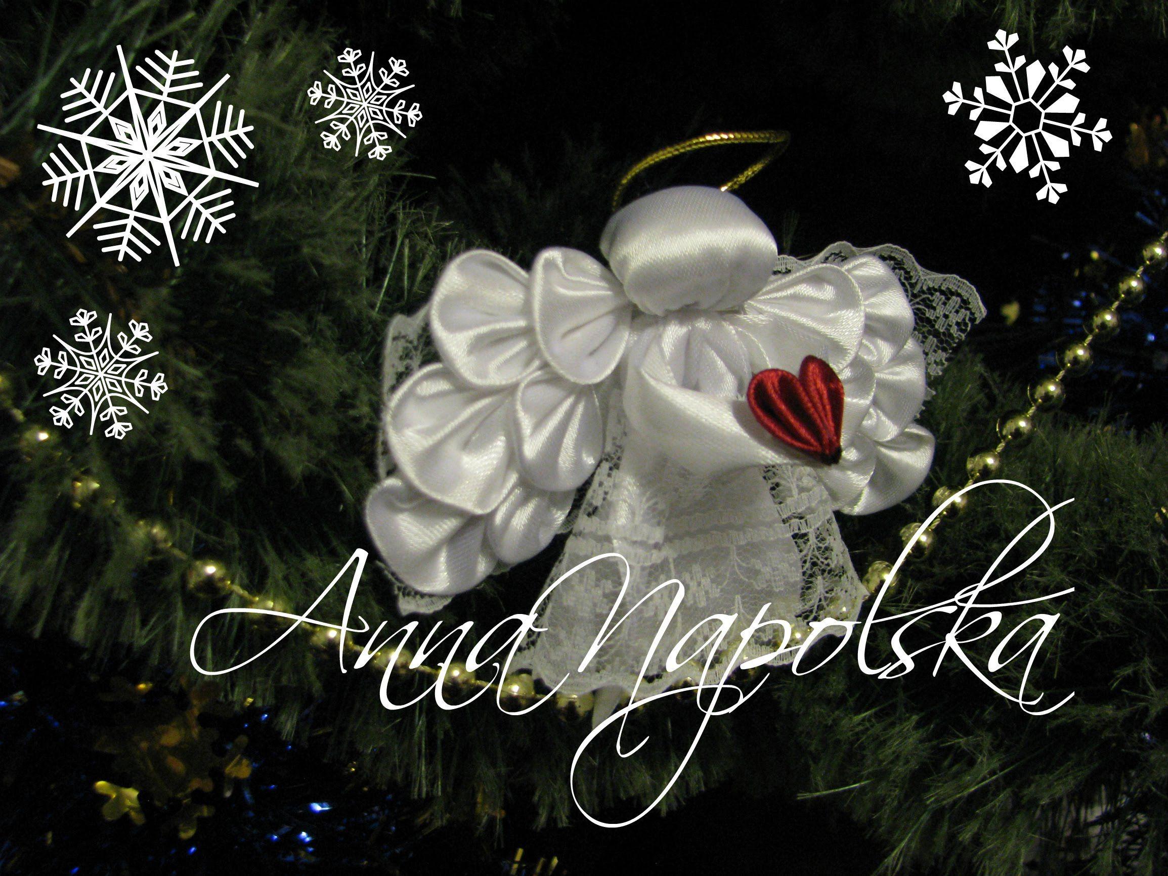 Різдвяне янгоРятко Рождественский ангеРочек Christmas angel