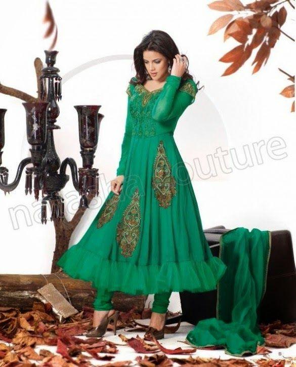 b5678bbcc Latest Churidar Shalwar Kameez Summer Collection 2014 For Girls By Natasha  Couture