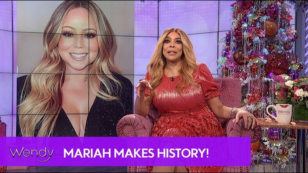 Mariah Carey Makes History Mariah Carey Mariah Carey