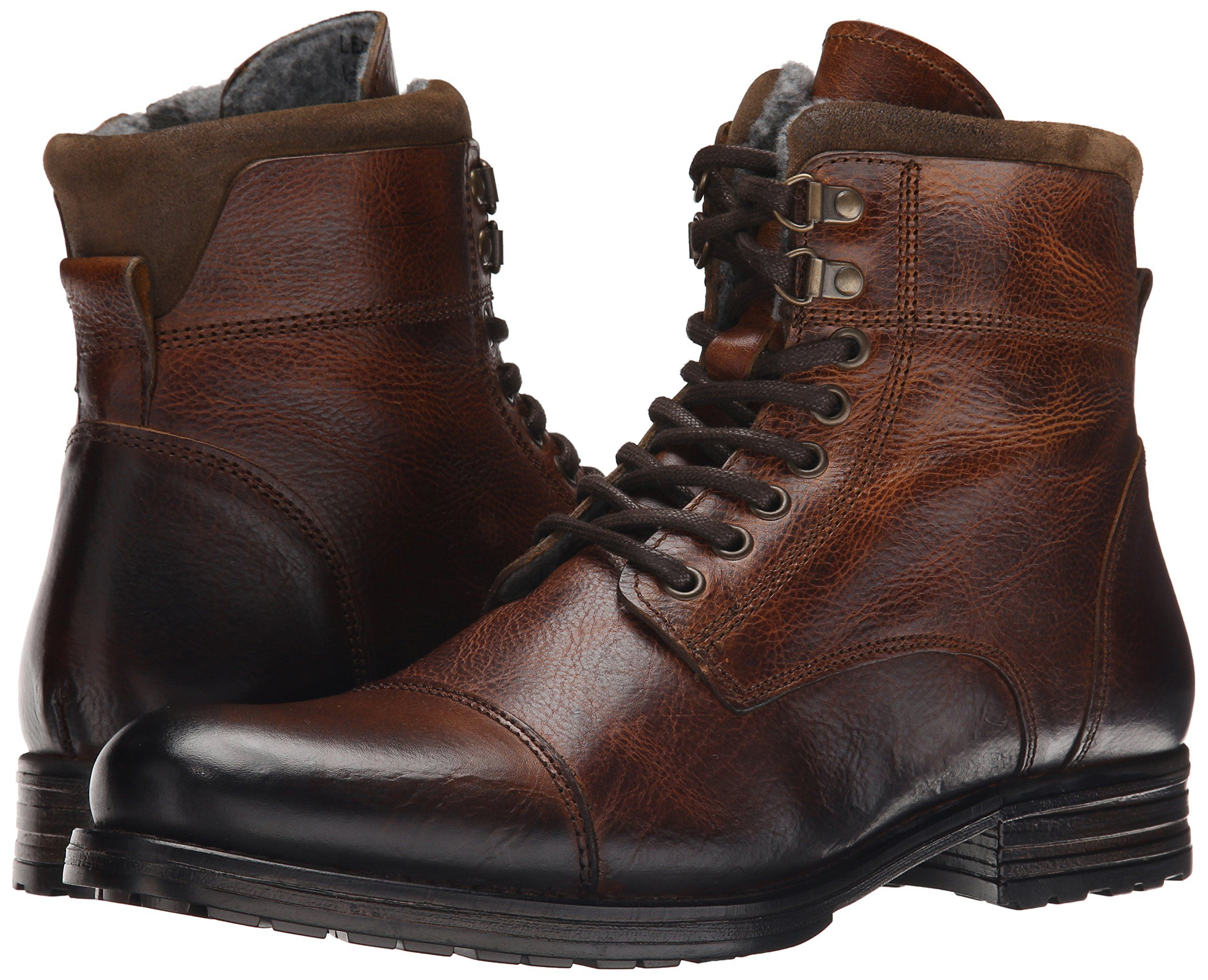 aldo mens leather boots