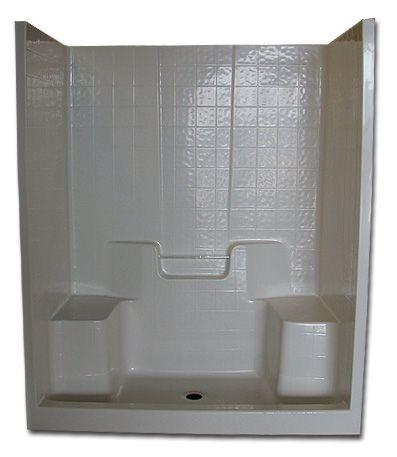 Fiberglass Shower Enclosures with Seat | Unit Specifications ...