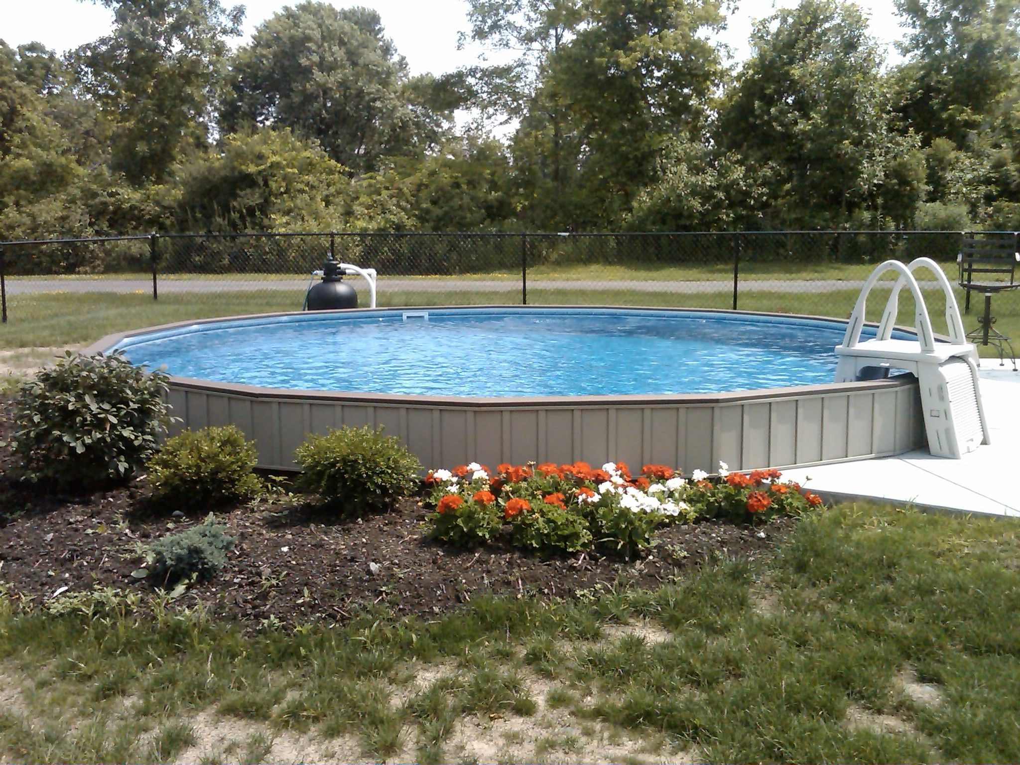 Semi Inground Fox Ultimate Pool Ultimate Pools