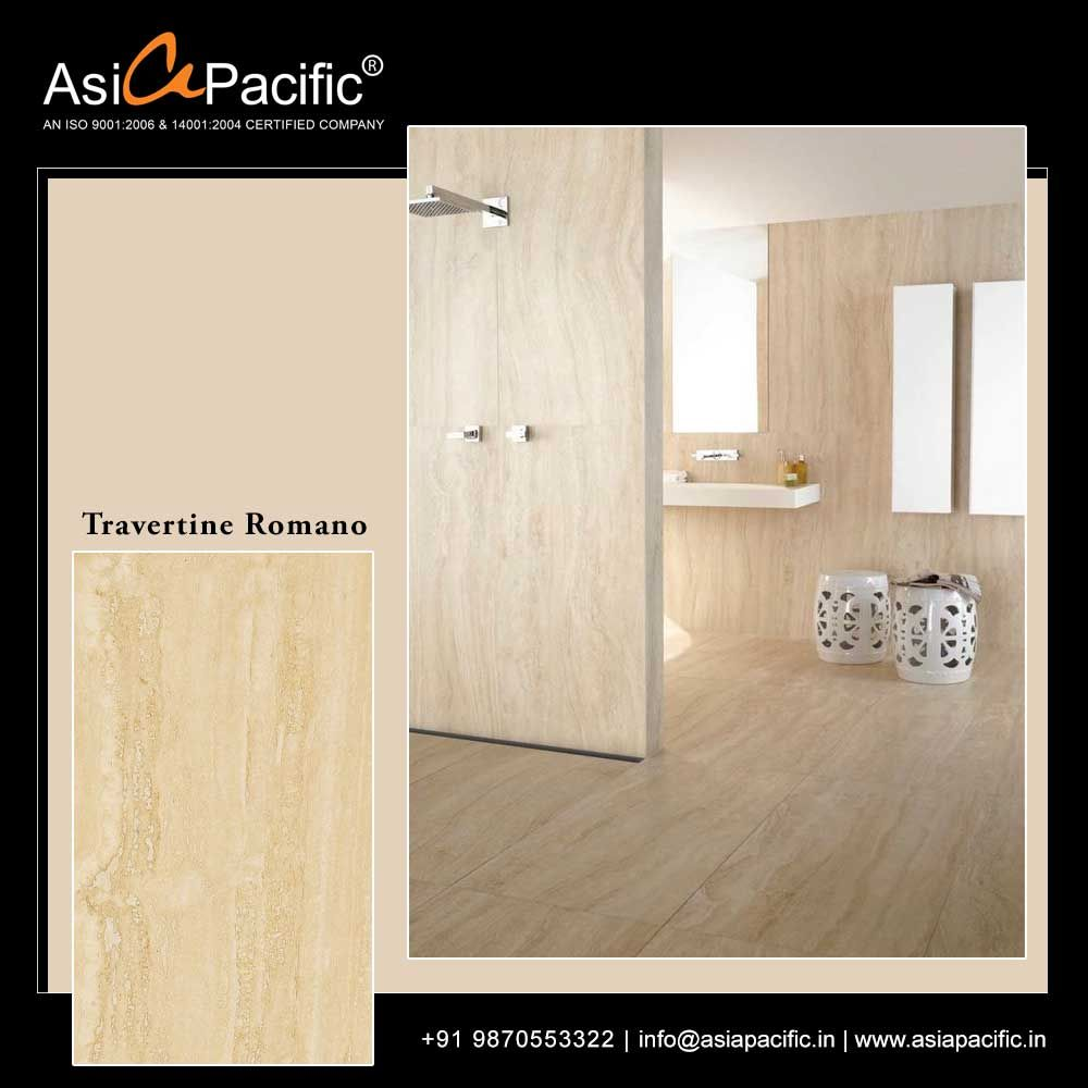 Travertine Romano Add a twist of magic to your homes with Asia Pacific Travertine Romano marble. Discover an exclusive range of marbles at