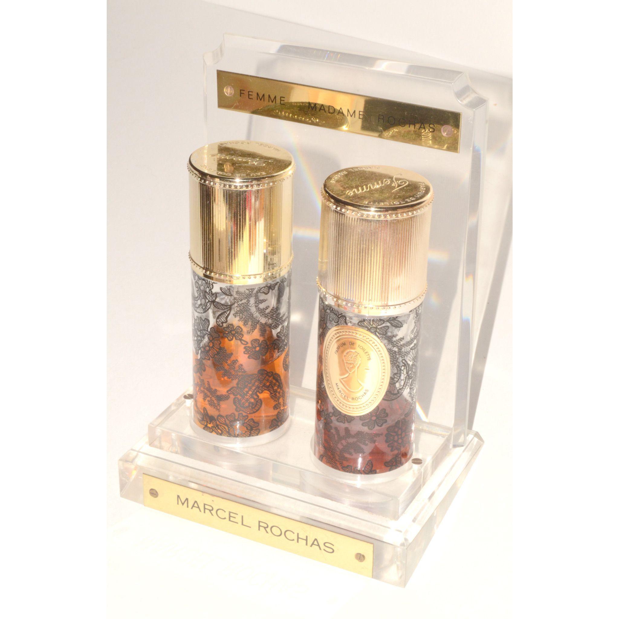 Femme Perfume Display Set By Marcel Rochas