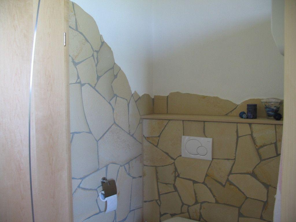 Solnhofener Polygonalplatten   Fa. Friedel Natursteine   Gäste wc ...