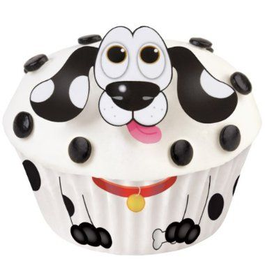 Shop now Wilton 415-0757 Dog Cupcake Decorating Kit for Halloween - wilton halloween cupcake decorations