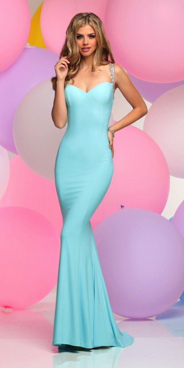 A-Line Open-Back Zoey Grey Prom Dress
