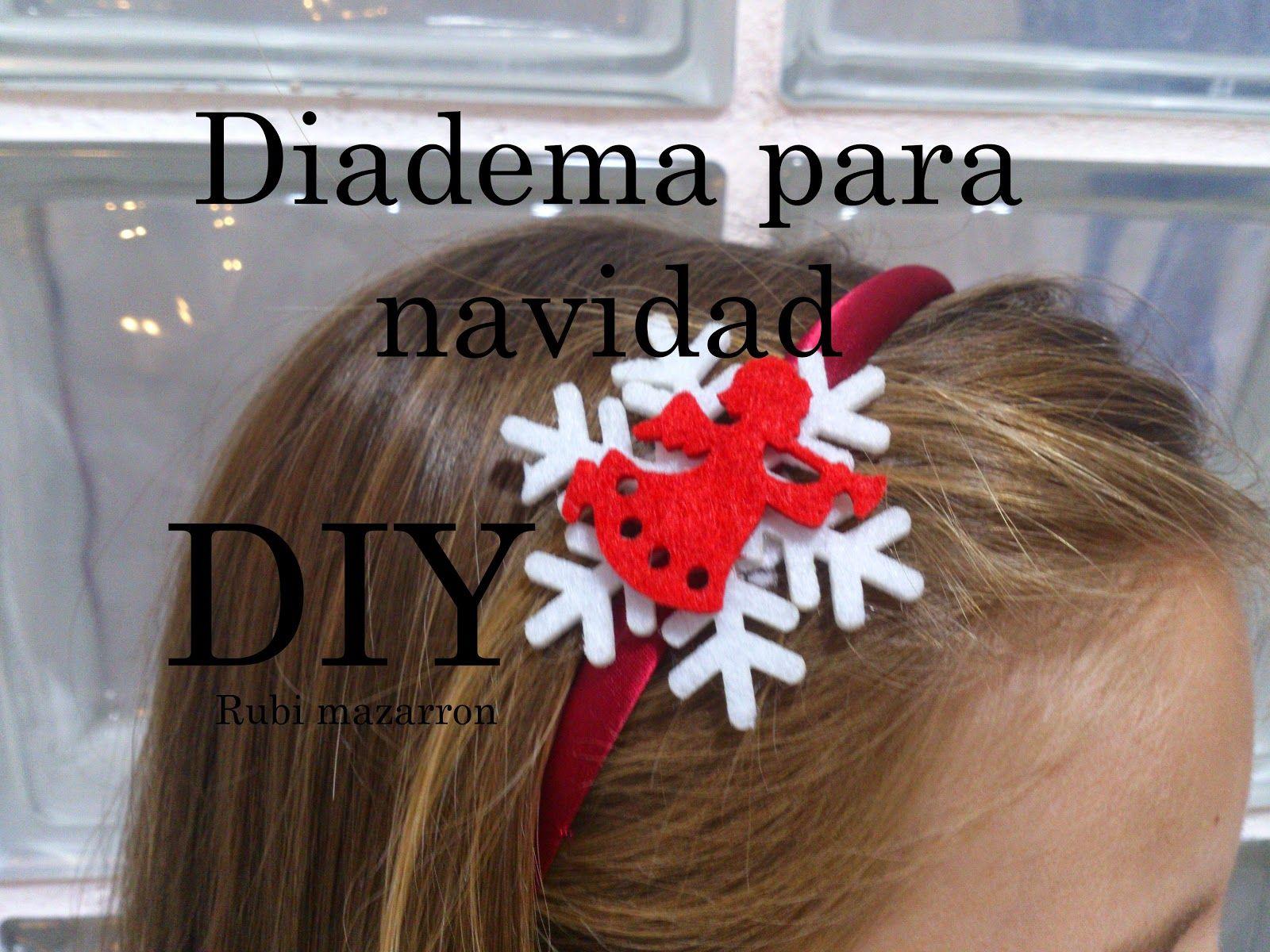 rubi. fotos de mis manualidades : Diademas para Navidad