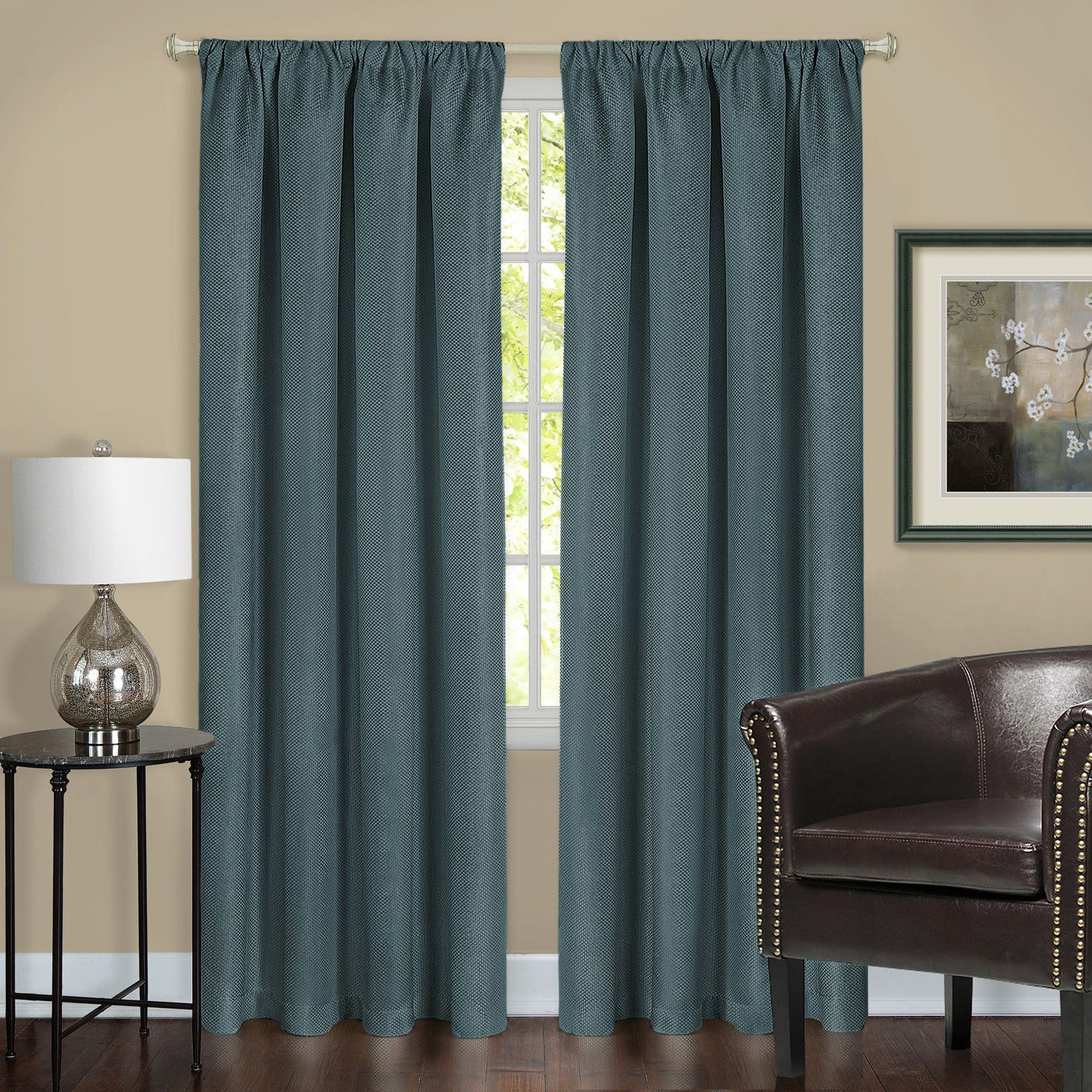 Harmony blackout single curtain panel products pinterest products