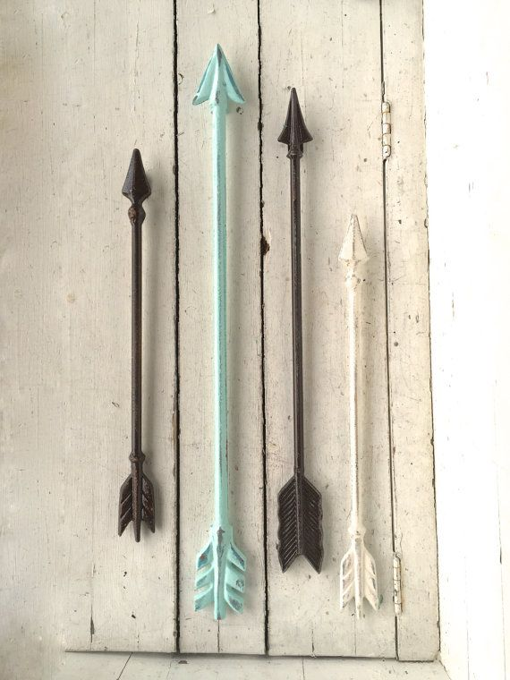 Metal Arrow, Home Decor, Arrow Wall Art, Native American Home
