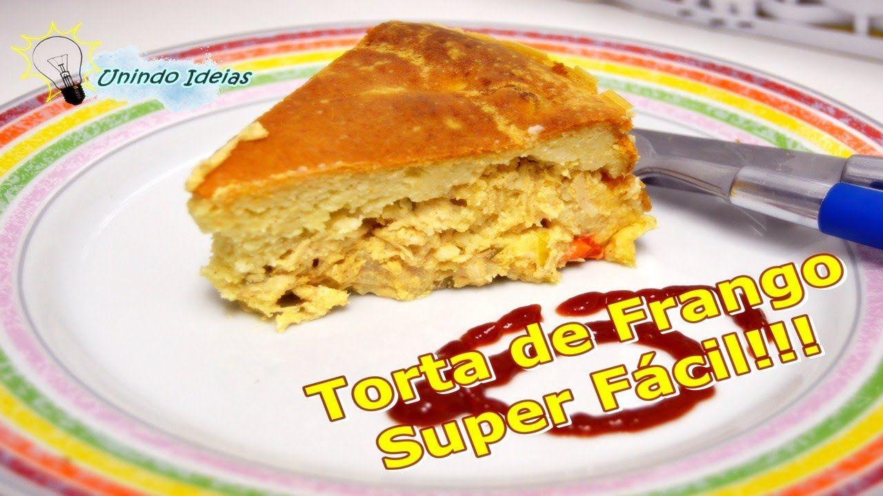 Delicia de receitinha!!! =)  #Giginacozinha - Torta de Frango Super Fácil