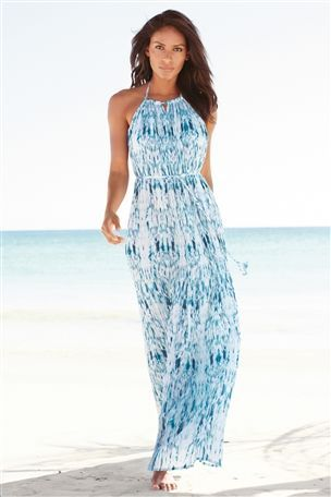 Buy Pleated Maxi Dress from the Next UK online shop  63e65c861