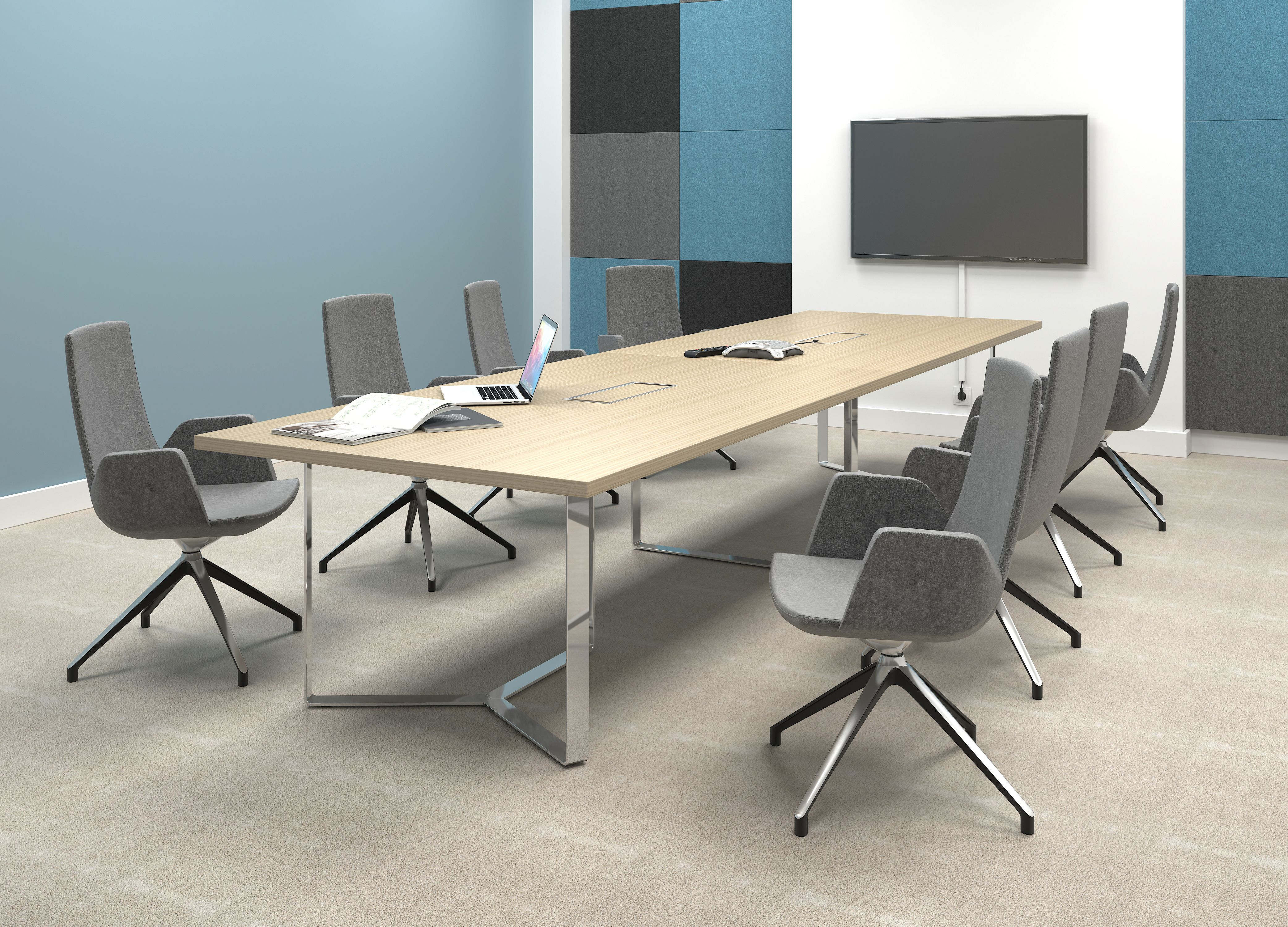 Plana Meeting Tables By Narbutas Meeting Table Furniture Table