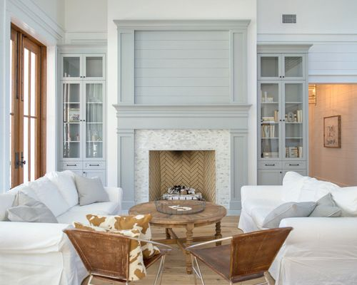 Farmhouse Living Room Design Ideas Remodels Photos