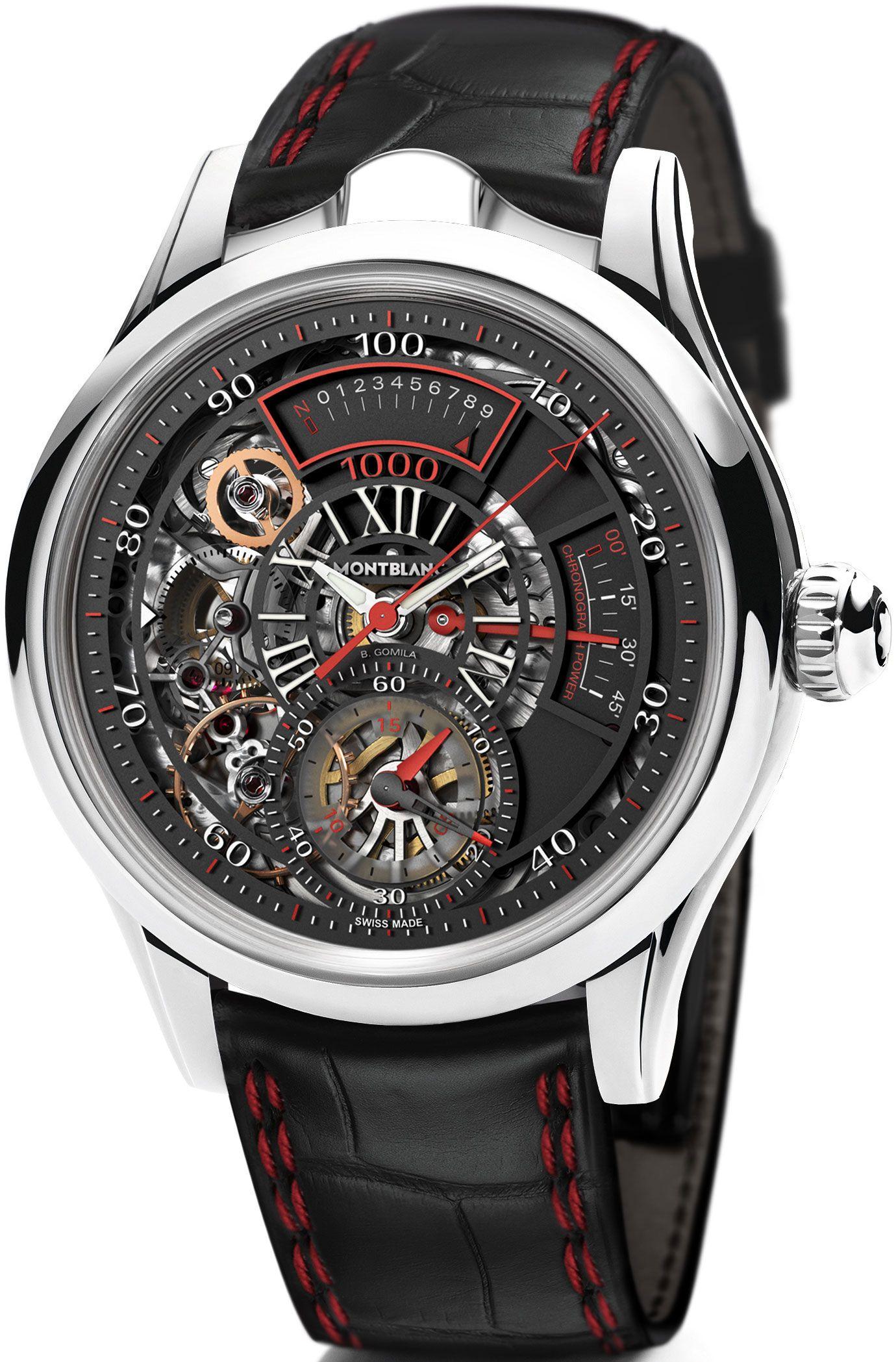 d1bb023f882 Montblanc TimeWriter II Chronographe Bi-Fréquence 1.000