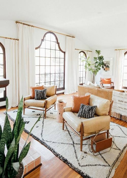 This elegant light filled home is the epitome of cali cool mydomaine also vital pieces coral curtains living room interior design in rh pinterest