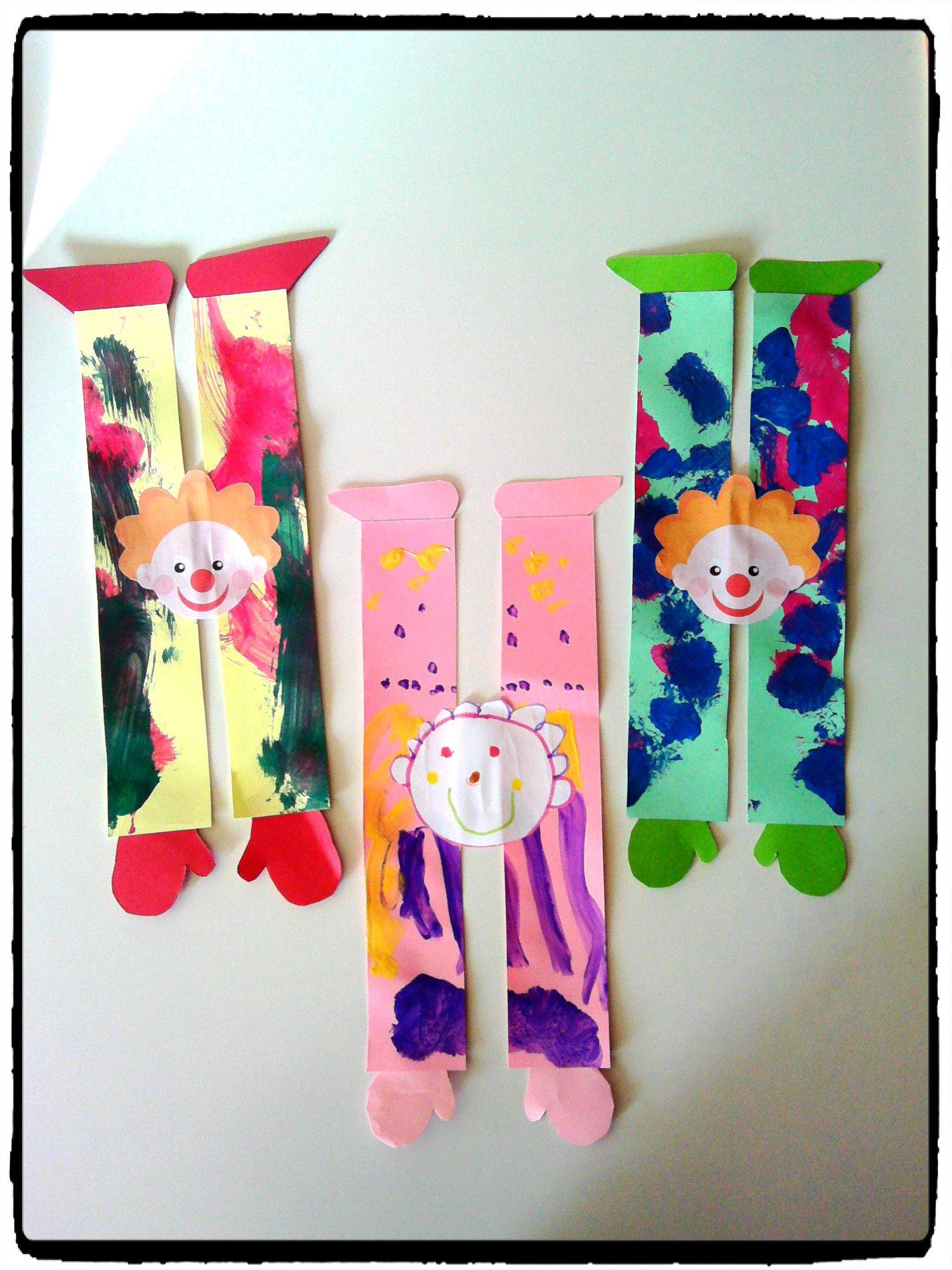 Top clowns acrobates, cirque, carnaval, bricolage enfant | Cirque et  KC62