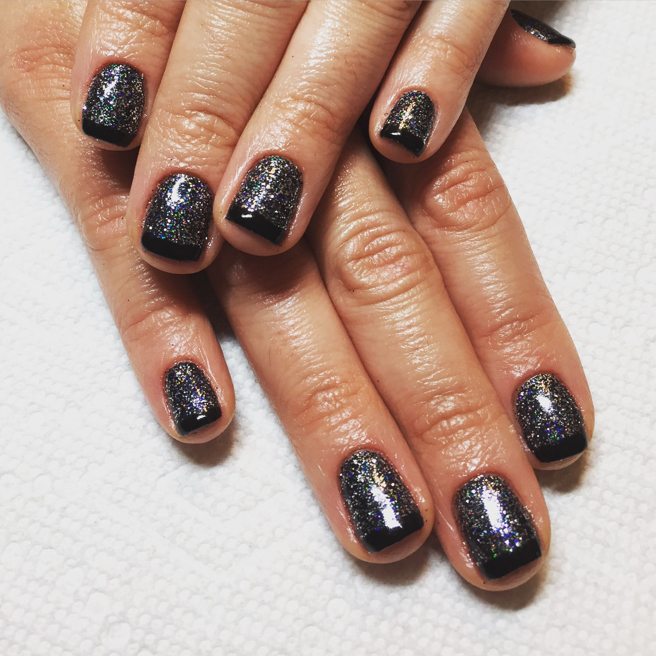 Gel nails. New year gel nails | Nails I\'ve done | Pinterest