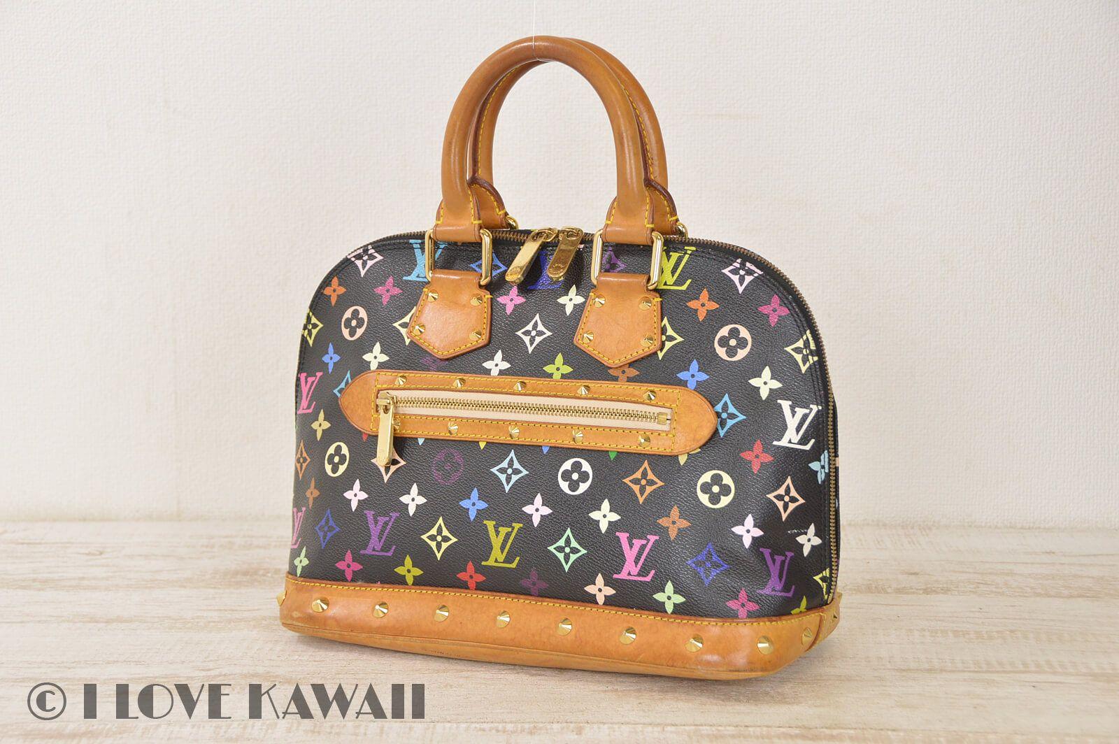 Louis Vuitton Monogram Multicolor Alma Hand Bag M92646