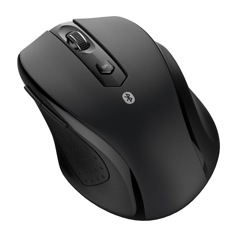 Amazon com: JETech M0884 Bluetooth Wireless Mouse for PC