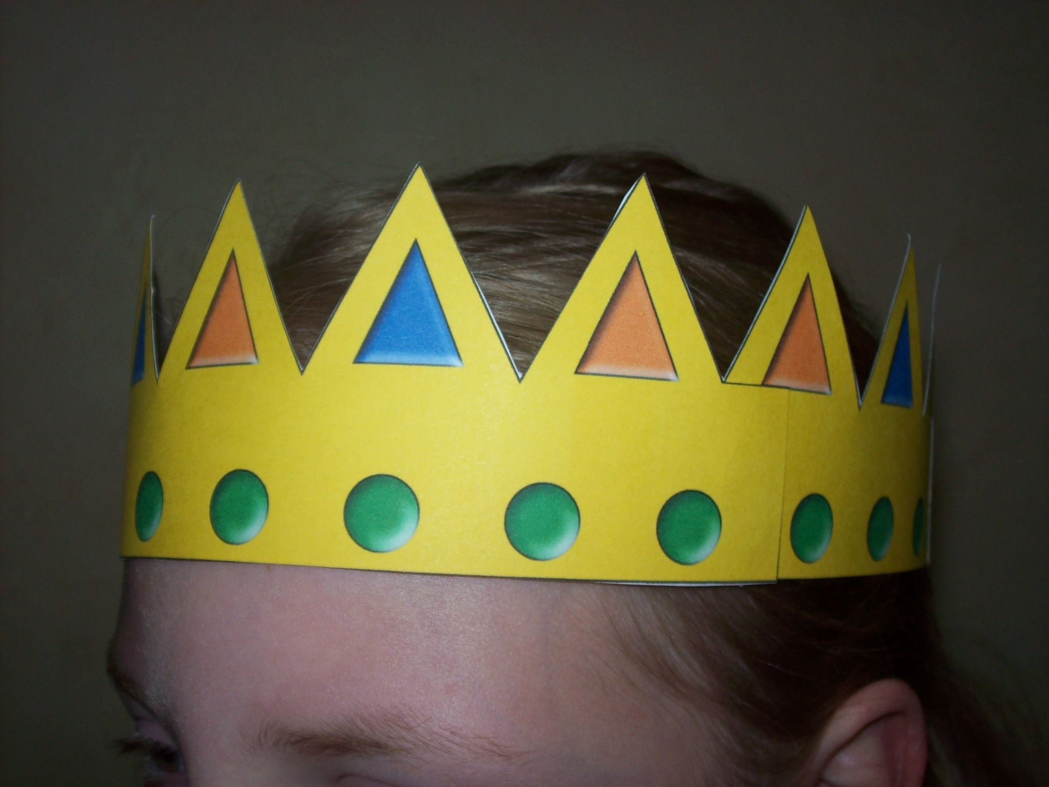 Image detail for -    Tiara and Crown Craft   Smarty Pants Fun