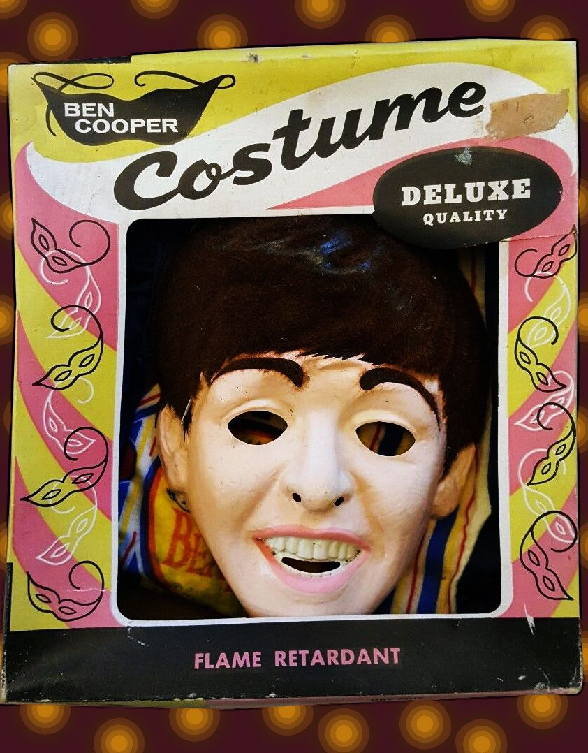 1964 Ben Cooper Beatles Halloween Costume.
