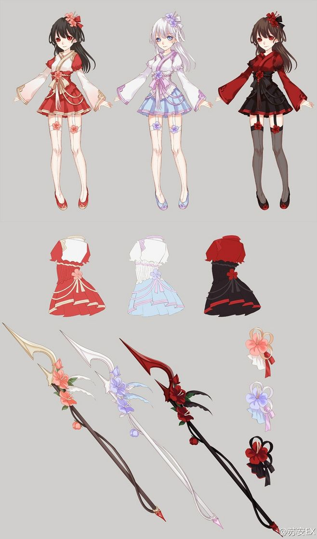 Battle dress anime style
