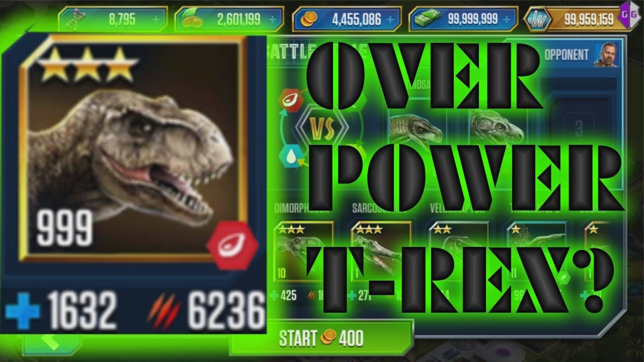Jurassic World The Game Hack Free Unlimited Coins, Cash
