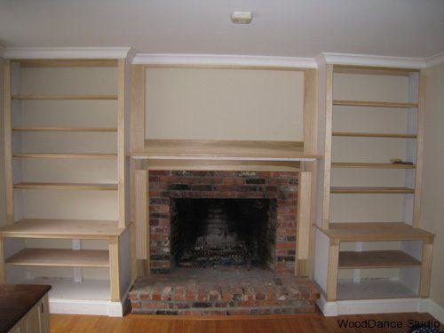 Built In Fireplace Diy
