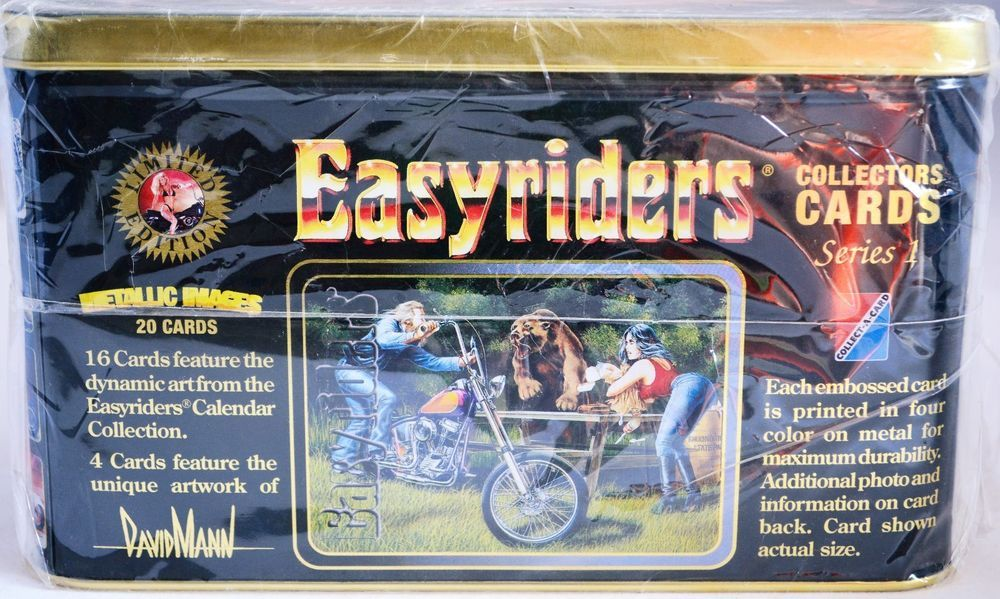 Easy Rider Collector Cards Series 1 Motorcycle Cards Collector