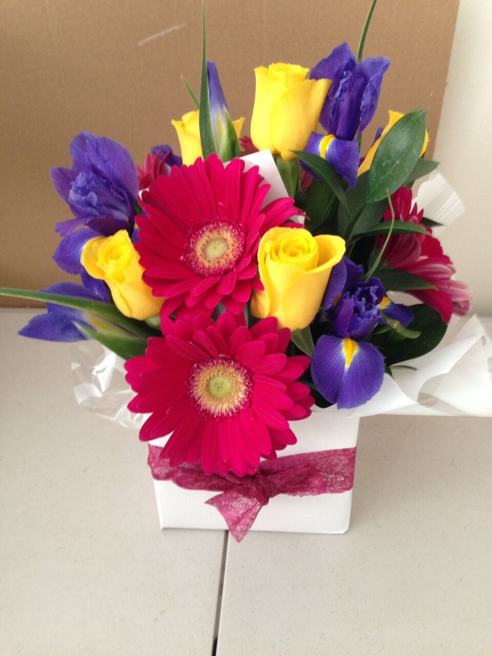 One of our most popular boxed arrangements is 'Making