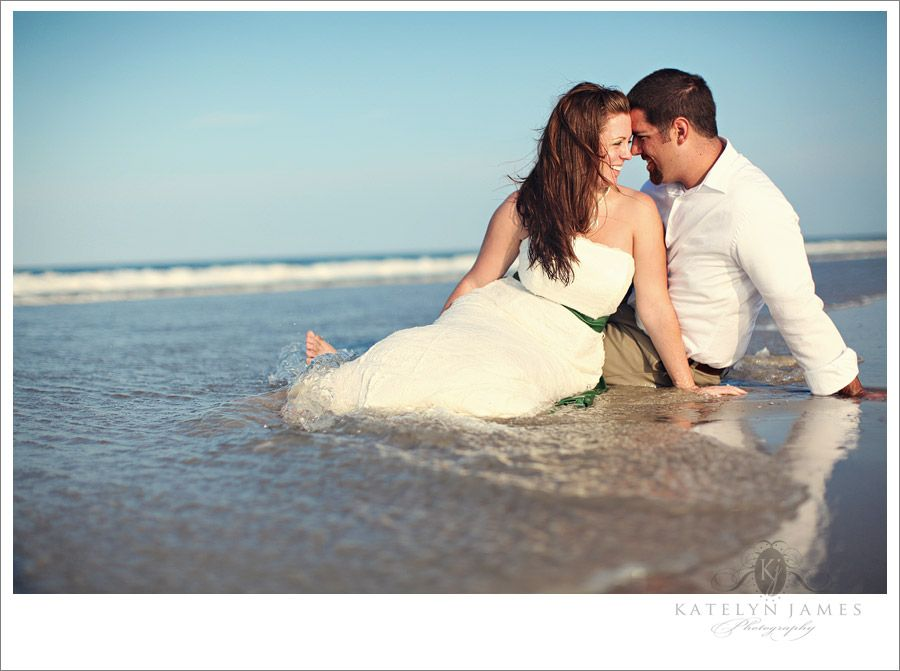 Would you do a wedding shot in the water??