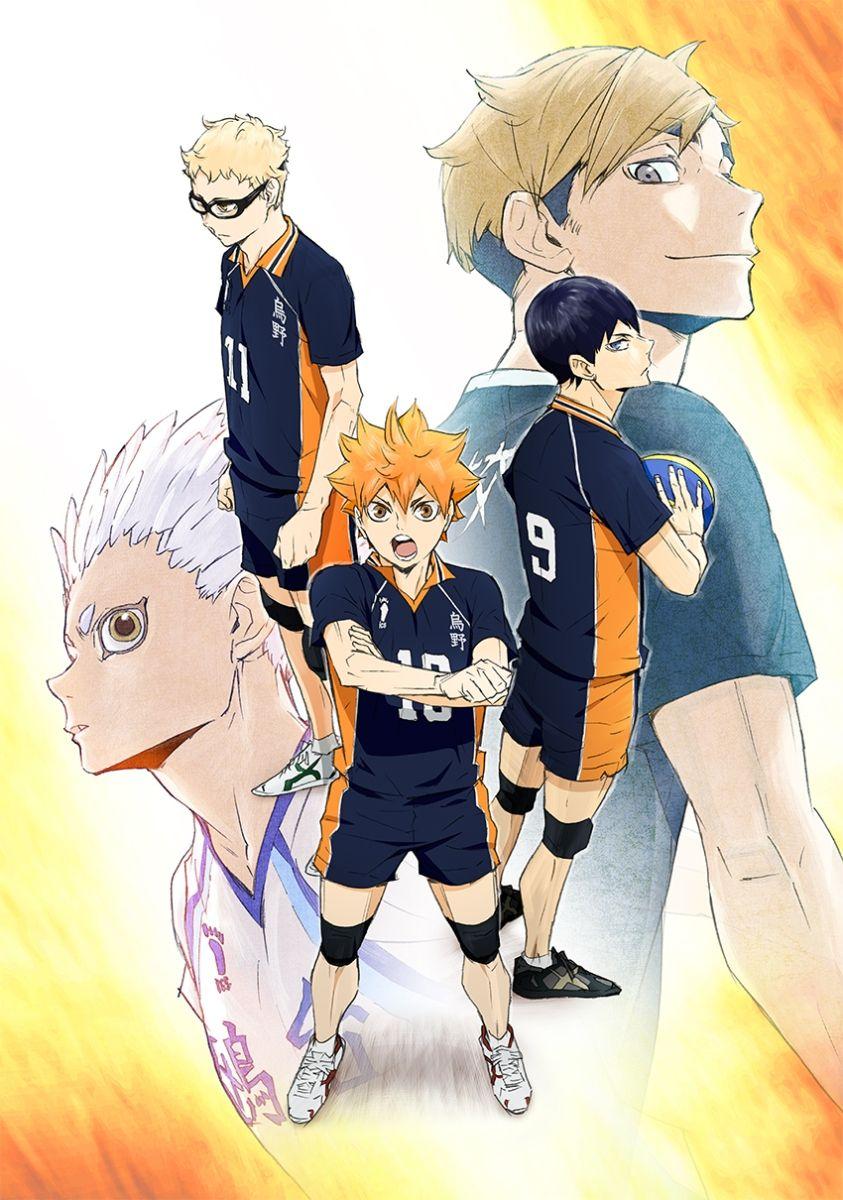 Haikyuu!! To the Top OST en 2020 Anime manga, Fnafhs