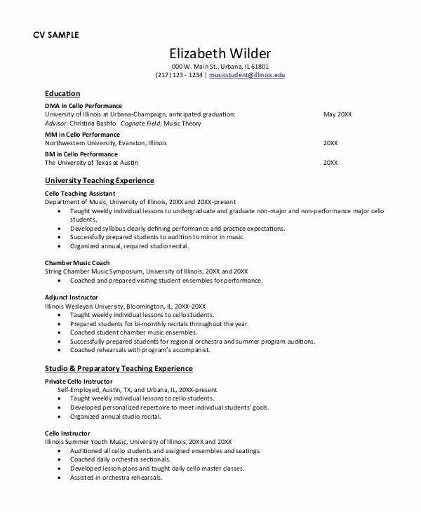Ut Mccombs Resume Template New Undergraduate College Resume