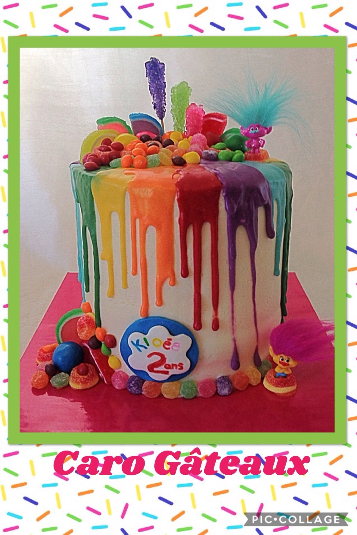 Drip cake trolls