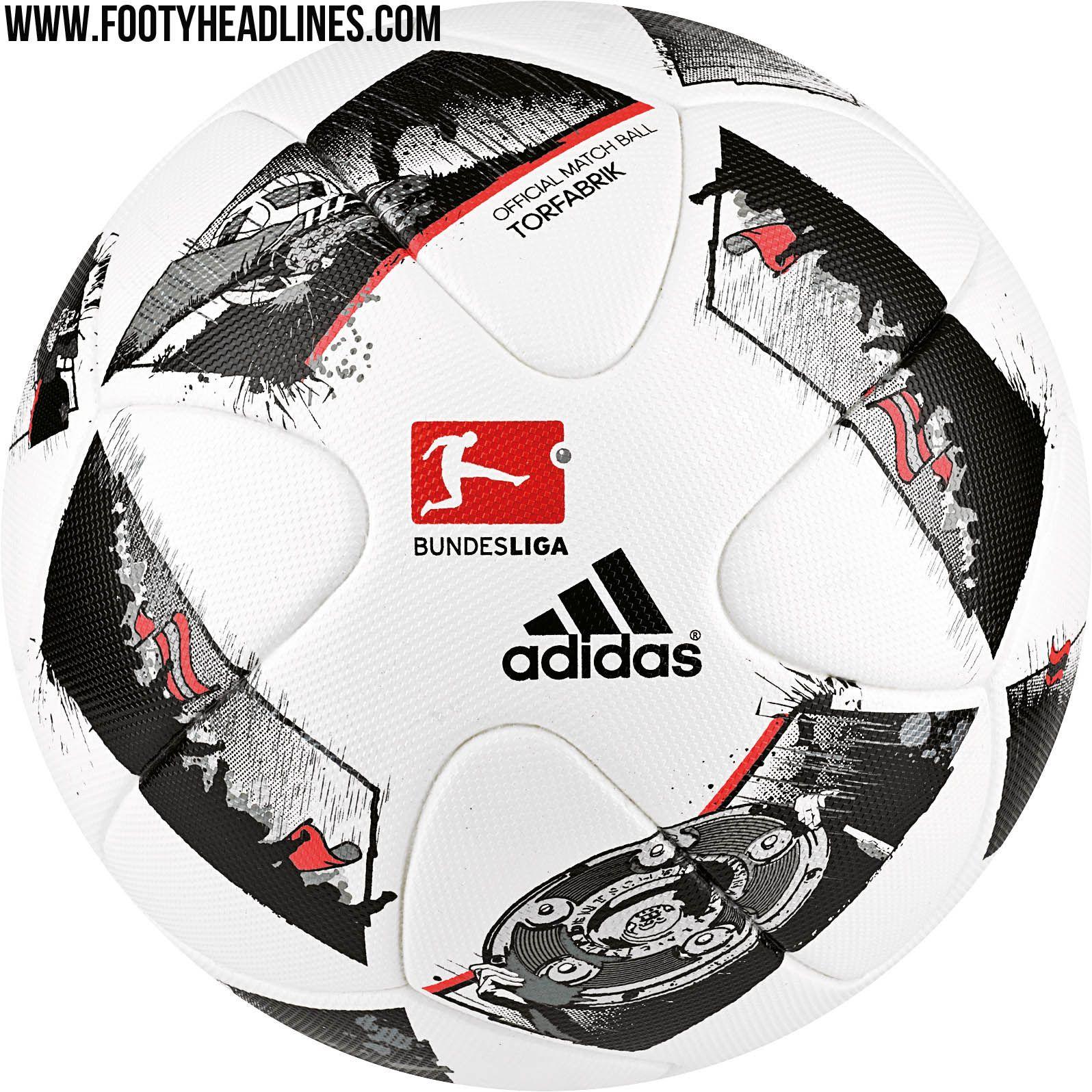 Adidas 16-17 Bundesliga Ball Leaked - Footy Headlines